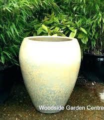 extra large urns large ceramic garden urns green garden pots extra large glacier white glazed noodle
