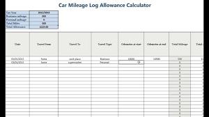 mileage calculator excel excel mileage calculator