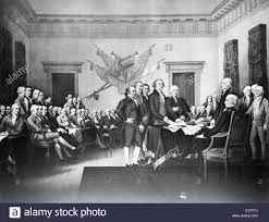 the signing of the declaration of independence on july 4 1776 in philadelphia this