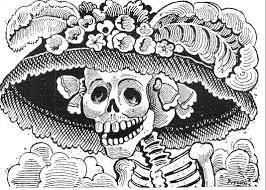for the day of the dead the classic skeletons of jose guadalupe posada calavera catrina