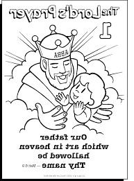 The Lords Prayer Coloring Pages Cheapdressesinfo