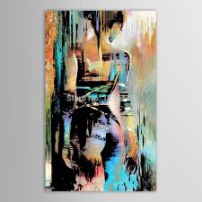 Painting A Living Room Aliexpresscom Buy Hand Painted Canvas Modernism Abstract Nude