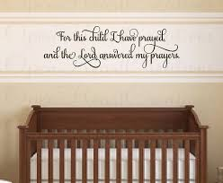 vinyl wall art quotes for nursery