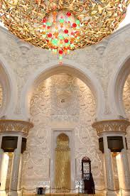 sheikh zayed grand mosque abu dhabi the largest ornate