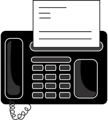 Fax Machine Cute Clipart