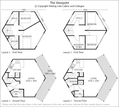 Eplans ContemporaryModern House Plan  Lofty Hexagon Forms Core Hexagon House Plans