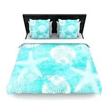 sylvia cook seaside blue teal woven duvet cover beach themed duvet covers nz beach themed single