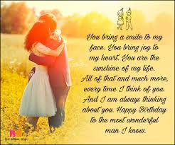 Happy Birthday Love Quotes Extraordinary Birthday Love Quotes For Him The Special Man In Your Life