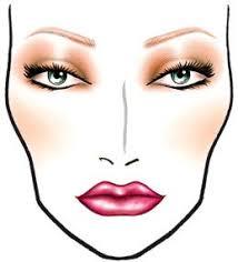 Face Chart Bridal Makeup In 2019 Makeup Face Charts Mac