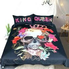 skull and bones bedding set skull and crossbones bedding skull bedding king king queen crown skull skull and bones bedding set