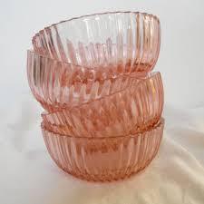 vintage glass bowls small glass bowl dessert bowls 1930 fortune