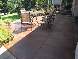stained concrete patio. Plain Patio Popular Of Acid Stain Concrete Patio Outdoor Decorating Concept  Staining Minneapolis Decorative For Stained P