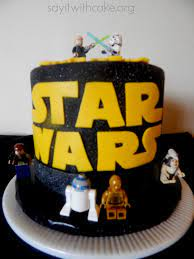 May the 4th be with you! Star Wars Cake ...