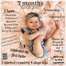 26 Month Old Milestones Chart 7 Month Baby Milestone Picture 7 Month Baby 7 Month Baby