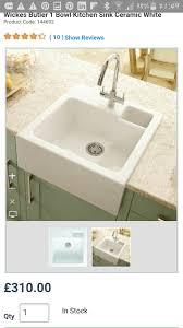 Wickes Amira Mono Mixer Kitchen Sink Tap Chrome  WickescoukWickes Sinks Kitchen