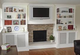 built in bookshelves around fireplace – Google Search Built-In ...