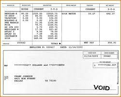Check Stub Template Free Download Pay Stub Template Free Download