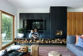 dwell modern lounge furniture. Dwell Modern Lounge Furniture City Family Home With Black Steel Fireplace Wall Carpet And Sofa G