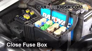 replace a fuse 1999 2005 suzuki grand vitara 2003 suzuki grand 6 replace cover secure the cover and test component