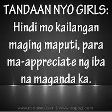 Beauty Quotes Tagalog