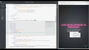 Brackets Live Development for HTML & CSS - YouTube
