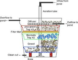 portable water filter diagram. DIY Biofilter For A Small Fish Pond Diagram Portable Water Filter E