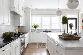 glamorous carrera marble countertop of honed countertops transitional kitchen benjamin