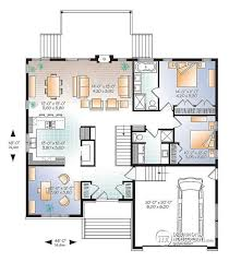house plans with office. w3280v1 modern home design master ensuite open floor plan office or bedroom 3 2car garage house plans with a