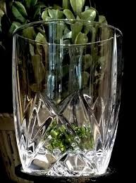 details about waterford marquis brookside crystal 12 oz double old fashioned glass pristine