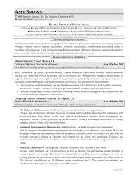 Sample Resumes Resumewriting Com Human Resources Generalist Resum