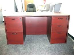 desk with locking file cabinet computer desk with locking drawer