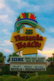 Light Up Pensacola Beach Sign Ornament Pensacola Beach Sign Pensacola Florida Day Beach Signs