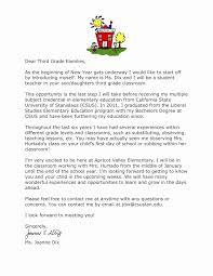Teacher Welcome Letter Template Fresh Teacher Wel E Letter
