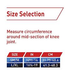 3m Ace Tekzone Knee Brace Open Patella Black Ritewaymed Com