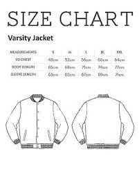 Varsity Jacket Size Chart Haynes Workshop Manual 0765 Saab 900 Turbo Black Mens