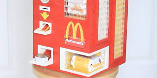 Mcdonalds Vending Machine Japan Simple Kid Builds Lego Chicken McNugget Machine Business Insider