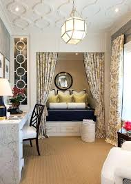 traditional hidden home office. Mesmerizing Guest Room Home Office With Hidden Daybed And White Desk Under Unique Decorating Traditional A