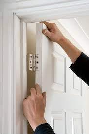 best way to repair broken door the