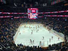 Bridgestone Arena Section 317 Home Of Nashville Predators