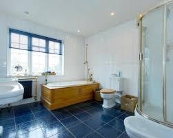 35 Cobalt Blue Bathroom Floor Tiles Ideas And Pictures Bathroom Wall