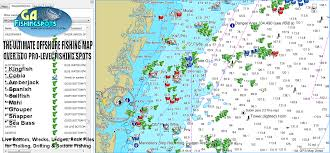 Fishing Charts Mapping Gps Coordinates Georgia Offshore Gps Fishing Spots Ultimate Collection Of