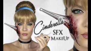 cinderella sfx makeup heel in face disney princess shonagh scott you