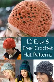 free crochet hat patterns to keep cozy all winter
