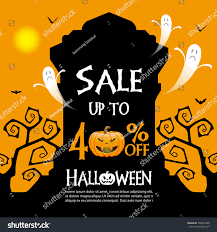 halloween sale flyer halloween sale banner template stock vector 740533480 shutterstock