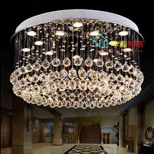 crystal light low level circular living room lights crystal ceiling led restaurant lights chandelier hanging wire lights proje chandelier with shades dining
