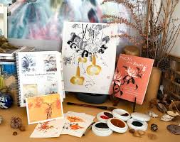 internationally exhibited chinese brush painter nan rae offers her greeting cards prints art lessons and supplies