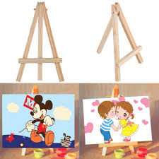Painting Display Stands OCDAY Kids Mini Wooden Easel Artist Art Painting Name Card Stand 81
