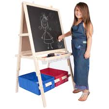 first impressions children s easel w storage bins