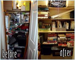 Organizing Another Real Reason To Get Organized Health Frugal . Basement  Closet ...