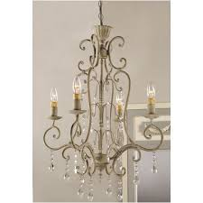 country french lighting. Shabby Vintage Metal Crystal CHANDELIER Electric Antique FRENCH Pertaining To Country French Chandeliers Decor 5 Lighting A